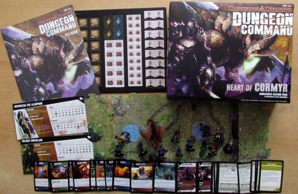 Written Review – Dungeon Command: Heart of Cormyr