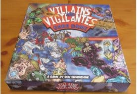 Written Review – Villains and Vigilantes Card Game