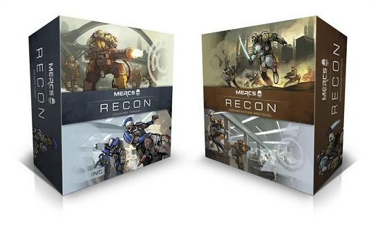 MERCS: Recon on Kickstarter
