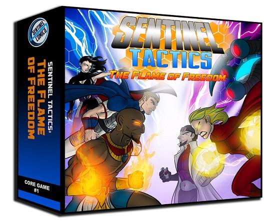 Sentinel Tactics: The Flame of Freedom on Kickstarter