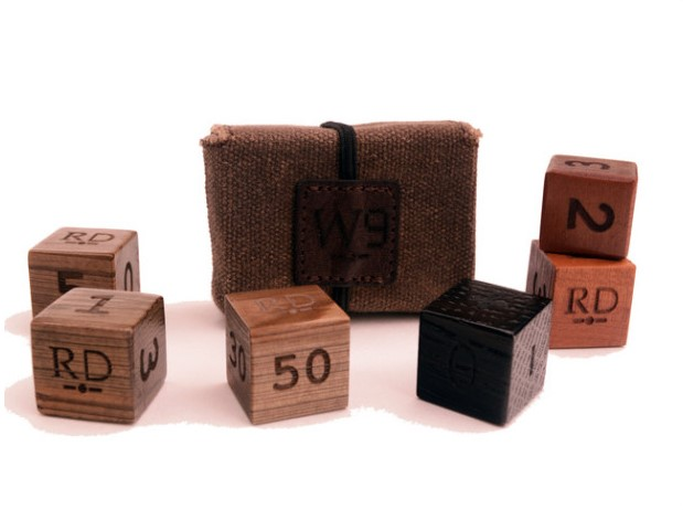 Root Dice, by World Nine Goods, Up on Kickstarter