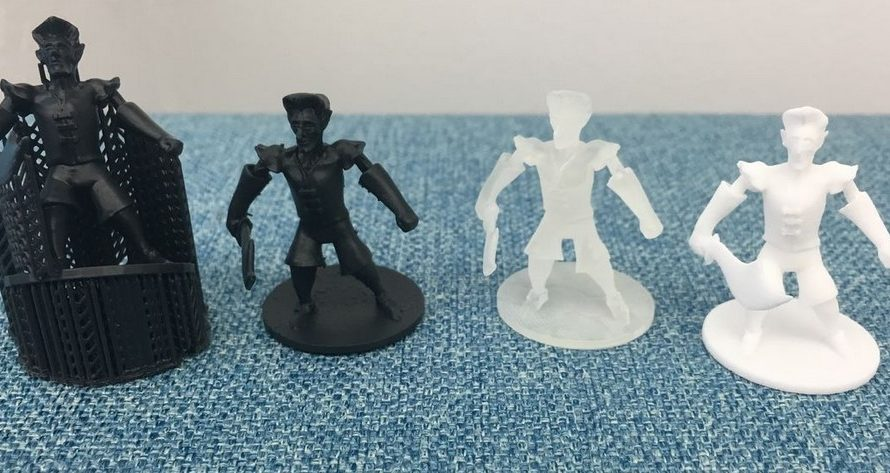 Kickstarter Double Play – Hero Forge 3D Printed Miniatures and Dice Empire: Series One