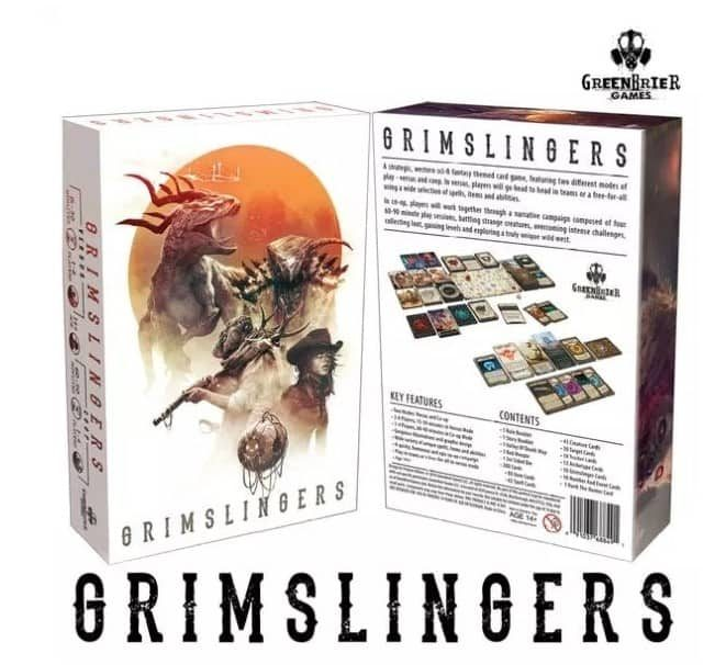 Grimslingers Releasing Soon from Greenbrier Games