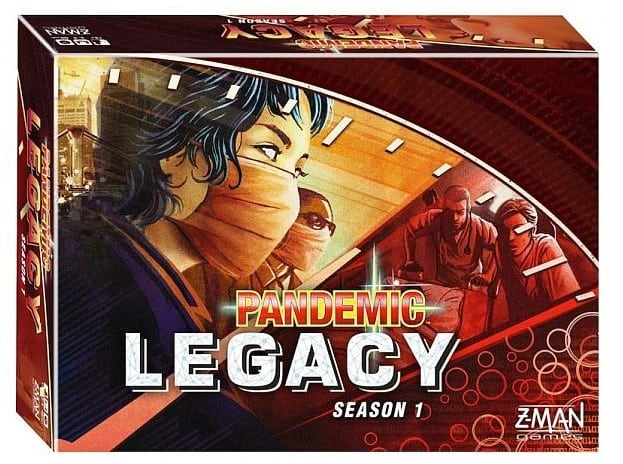 Pandemic Legacy – Holding Back Disease on an Epic Scale