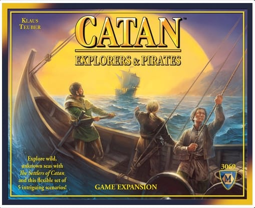 Written Review – Catan: Explorers and Pirates