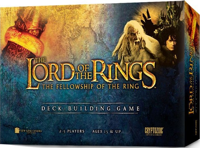 Written Review – The Lord of the Rings: The Fellowship of the Ring Deck Building Game
