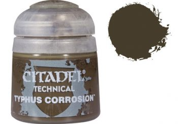 Games Workshop Citadel Typhus Corrosion Paint Review