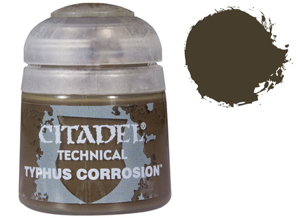 Games Workshop Citadel Typhus Corrosion Paint Review