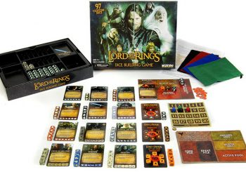 Written Review – The Lord of the Rings Dice Building Game