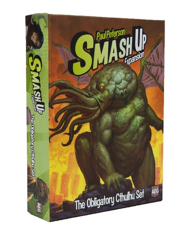 Written Review – Smash Up: The Obligatory Cthulhu Set