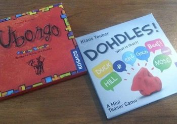 Mini Review of Dohdles and Ubongo Teaser Games from Gen Con 2015