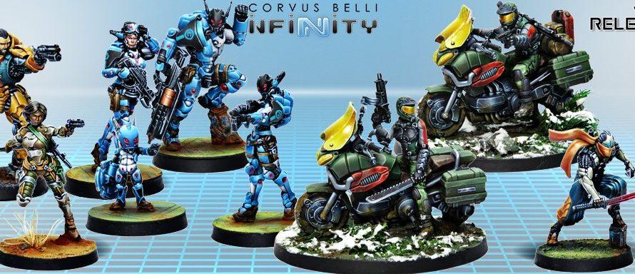 Corvus Belli Posts New August 2013 Infinity Releases
