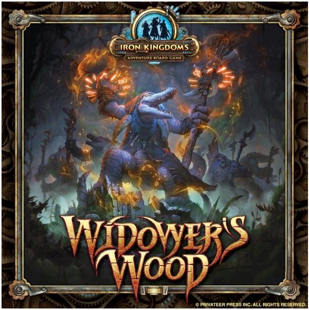Privateer Press Announces Widower's Wood, Coming to Kickstarter February 16th