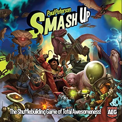 Written Review – Smash Up!