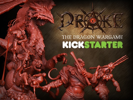 Drake : The Dragon Wargame Launched On Kickstarter
