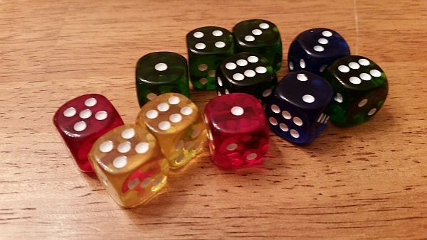 Such colorful dice!