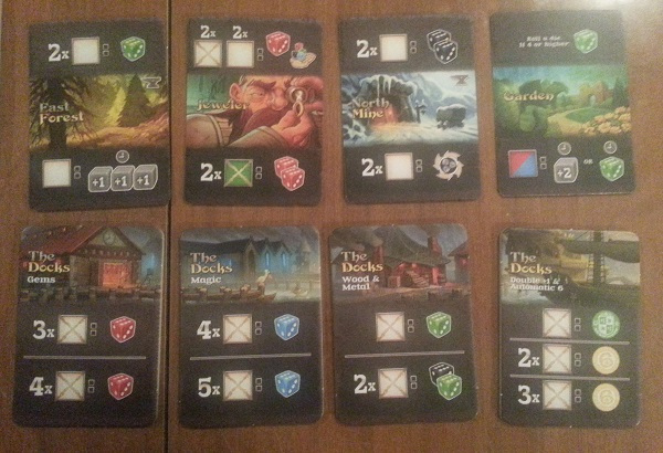 king's forge docks and gather cards
