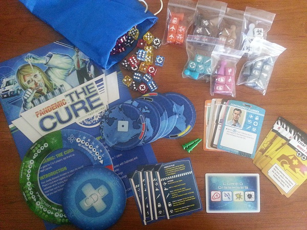pandemic the cure content