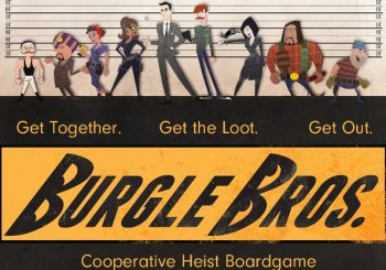 Guest Post: Kickstarter Preview – Burgle Bros.