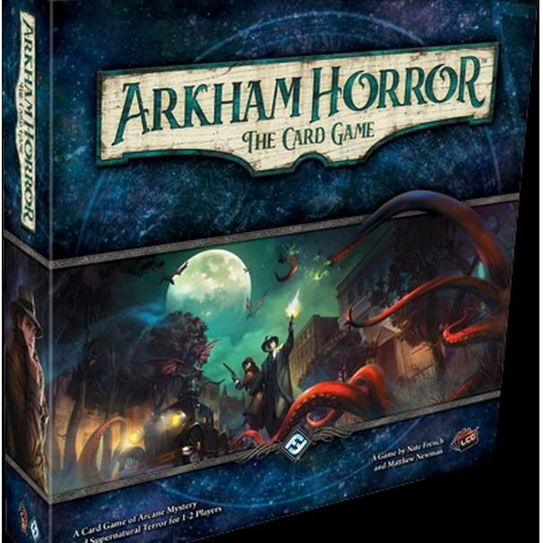Arkham Horror: The Card Game – A Frighteningly Fun LCG