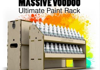 Ultimate Paint Rack by Massive Voodoo Now On IndieGoGo