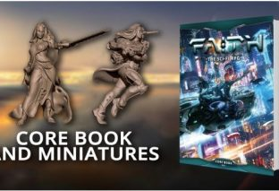 FAITH: Sci-Fi RPG Core Book and Miniatures Now On Kickstarter