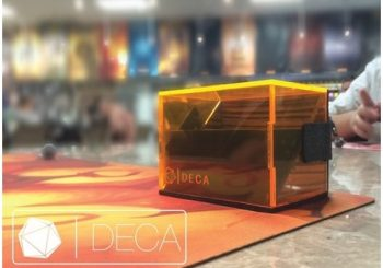 DECA, A New Card Gaming Deck Box, Now on Kickstarter