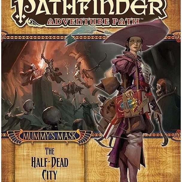 Written Review – Pathfinder Adventure Path: Mummy's Mask 1 of 6: The Half-Dead City